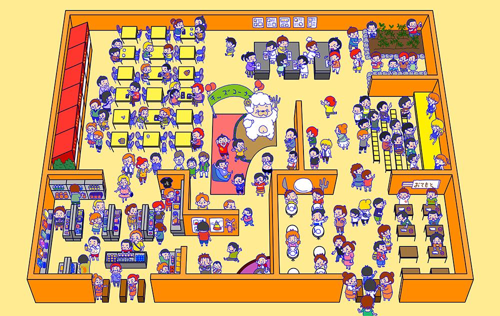 食育イベント会場MAP